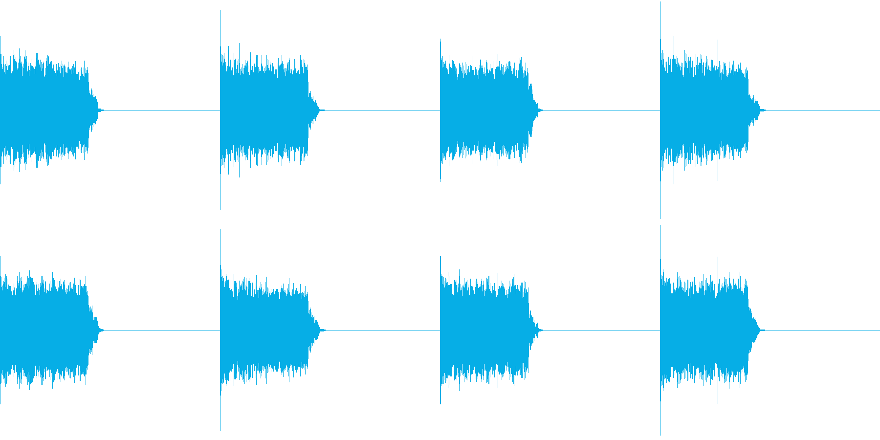 電話 呼び出し音 デジタル 固定電話の再生済みの波形