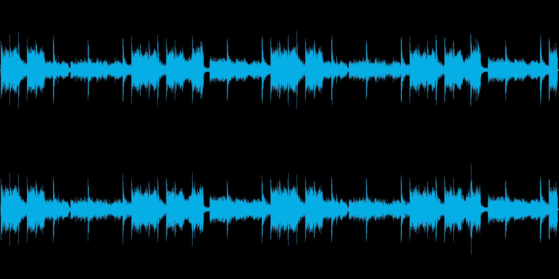 リラクゼーションループの再生済みの波形