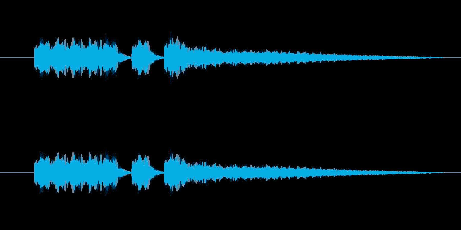中国イメージの短いBGMの再生済みの波形