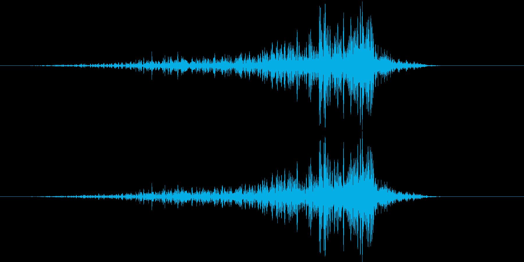193_リバース7の再生済みの波形