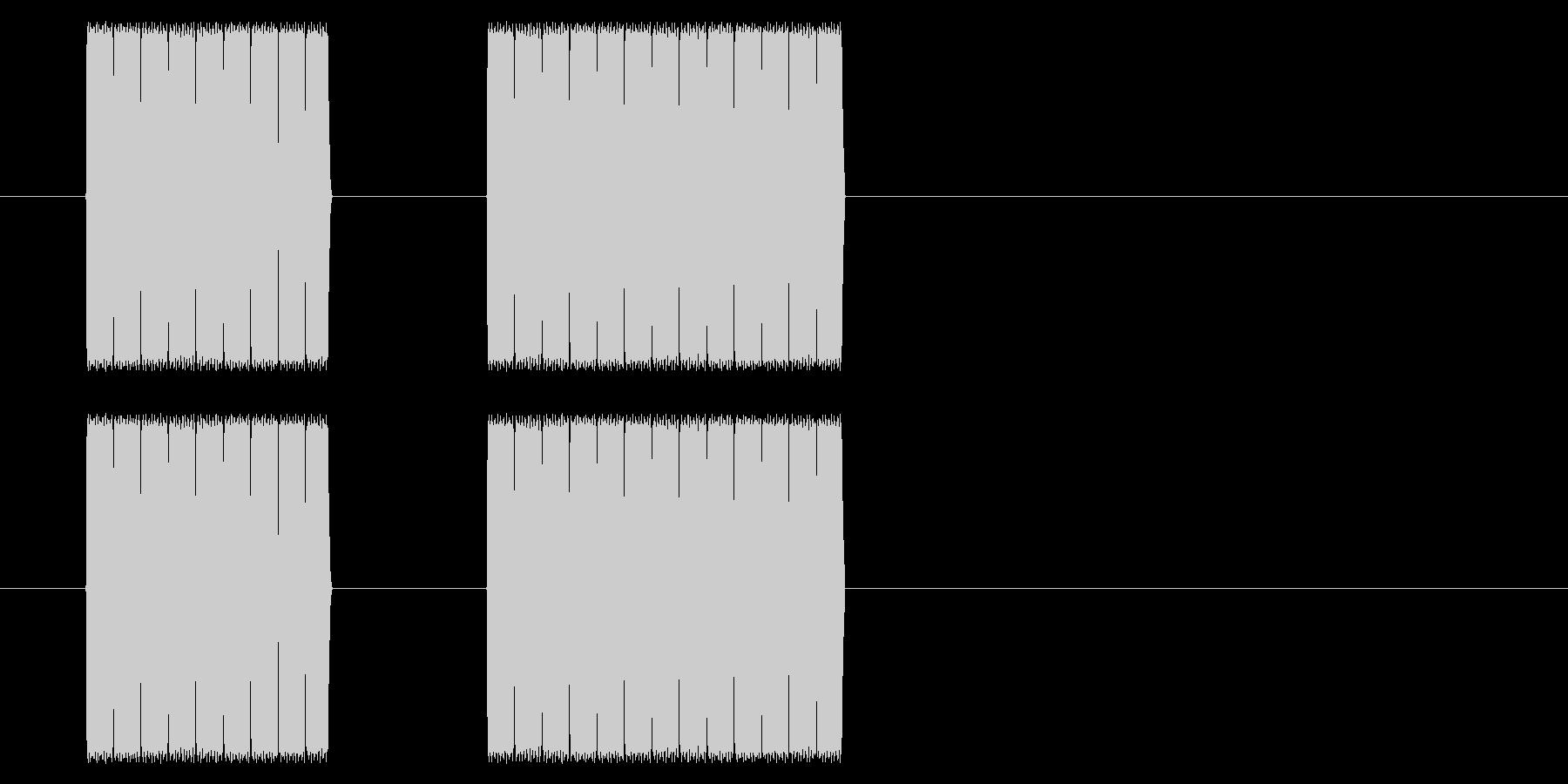 【NES RPG02-09(メッセージ)の未再生の波形