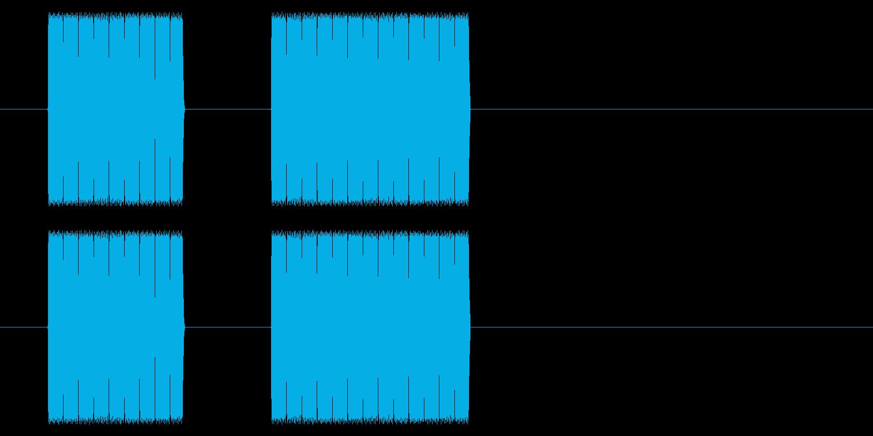 【NES RPG02-09(メッセージ)の再生済みの波形