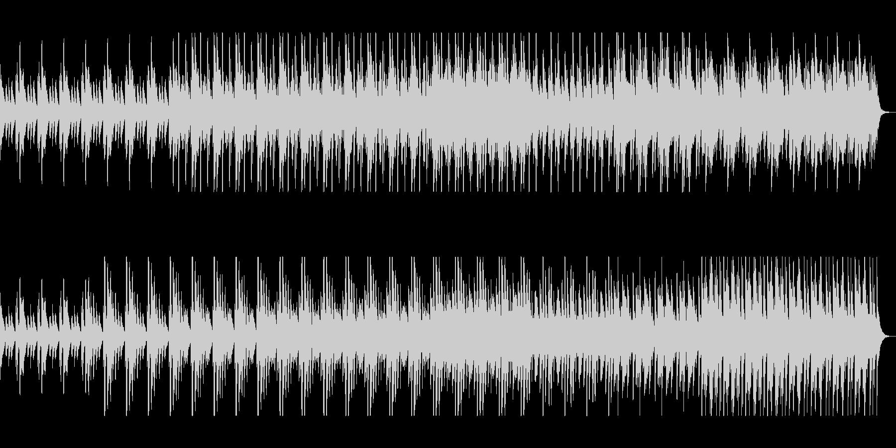 おしゃれで軽やかな打楽器木琴シンセの未再生の波形