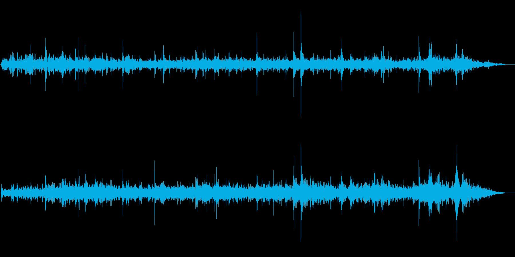 ピチョピチョ(洞窟の水滴)の再生済みの波形