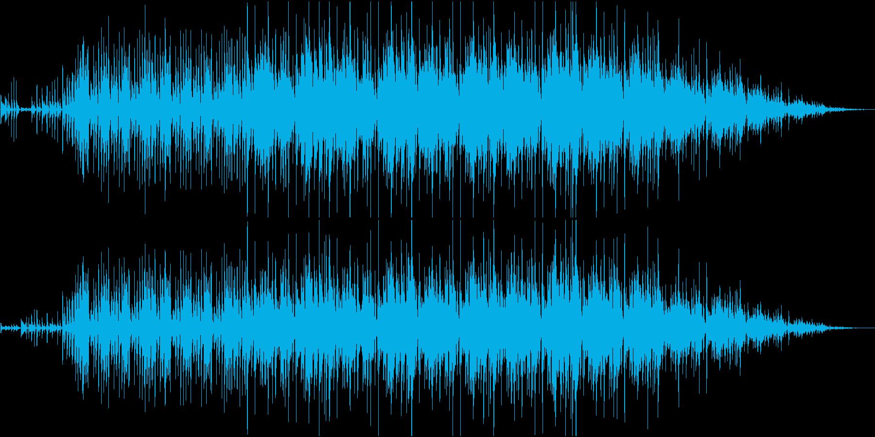 ギターカッティングが印象的なファンク音楽の再生済みの波形