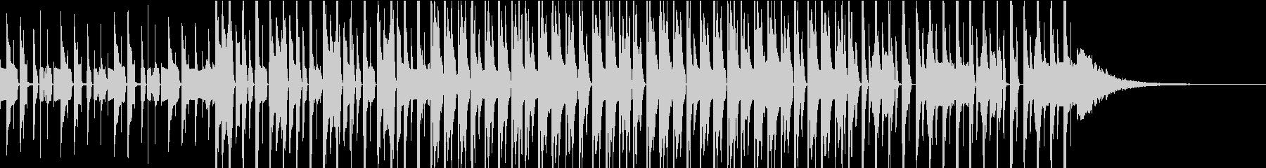 ピコピコ愉快でクールなエレクトロの未再生の波形