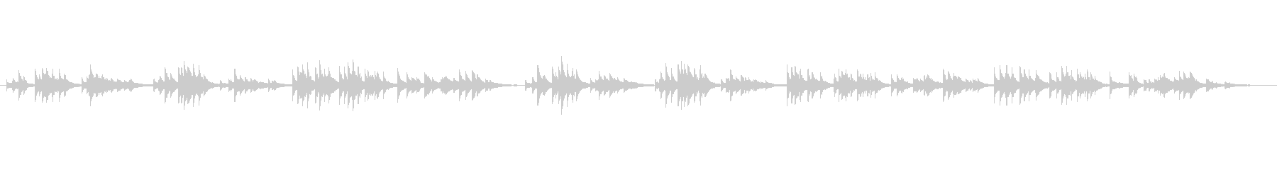 アイルランド民謡的な中世ハープの音色の未再生の波形