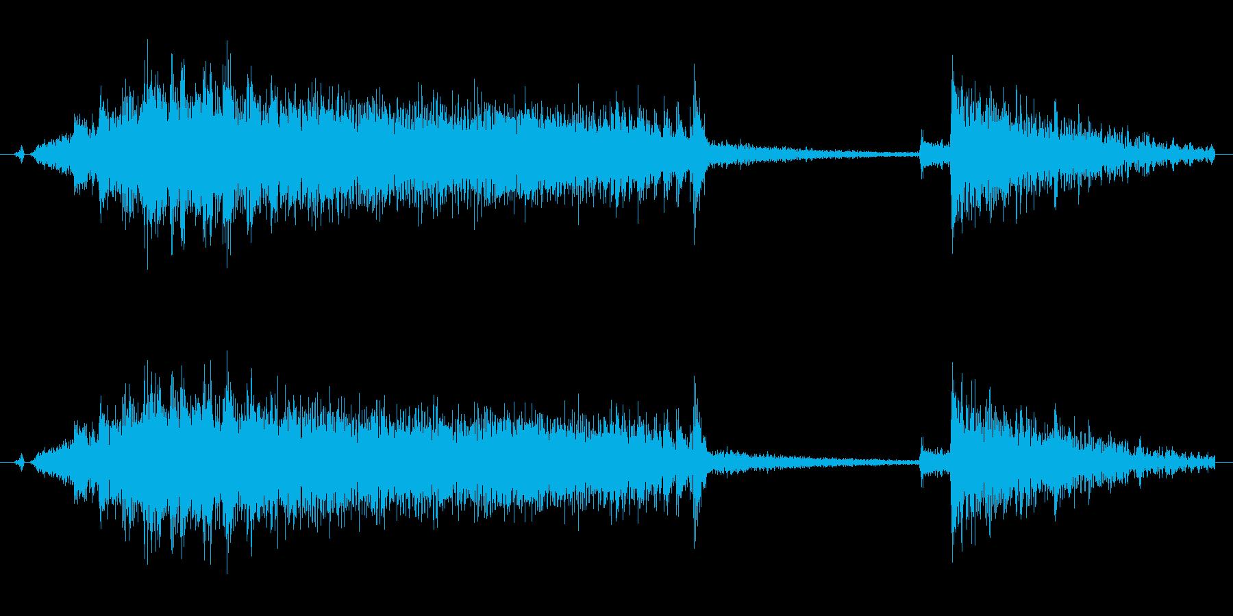 ギィー バタンの再生済みの波形