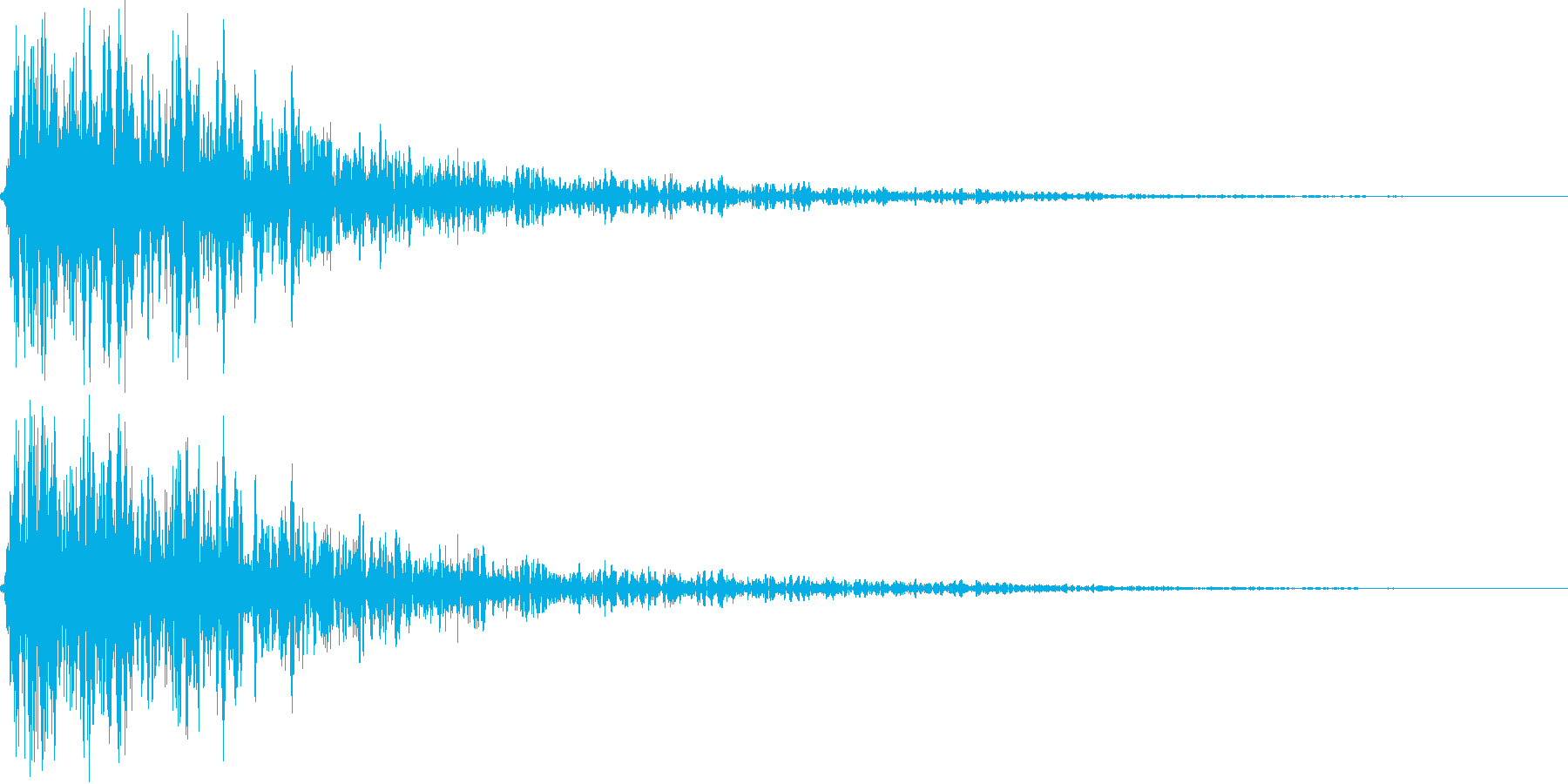 ビュンッ(金属系効果音)の再生済みの波形