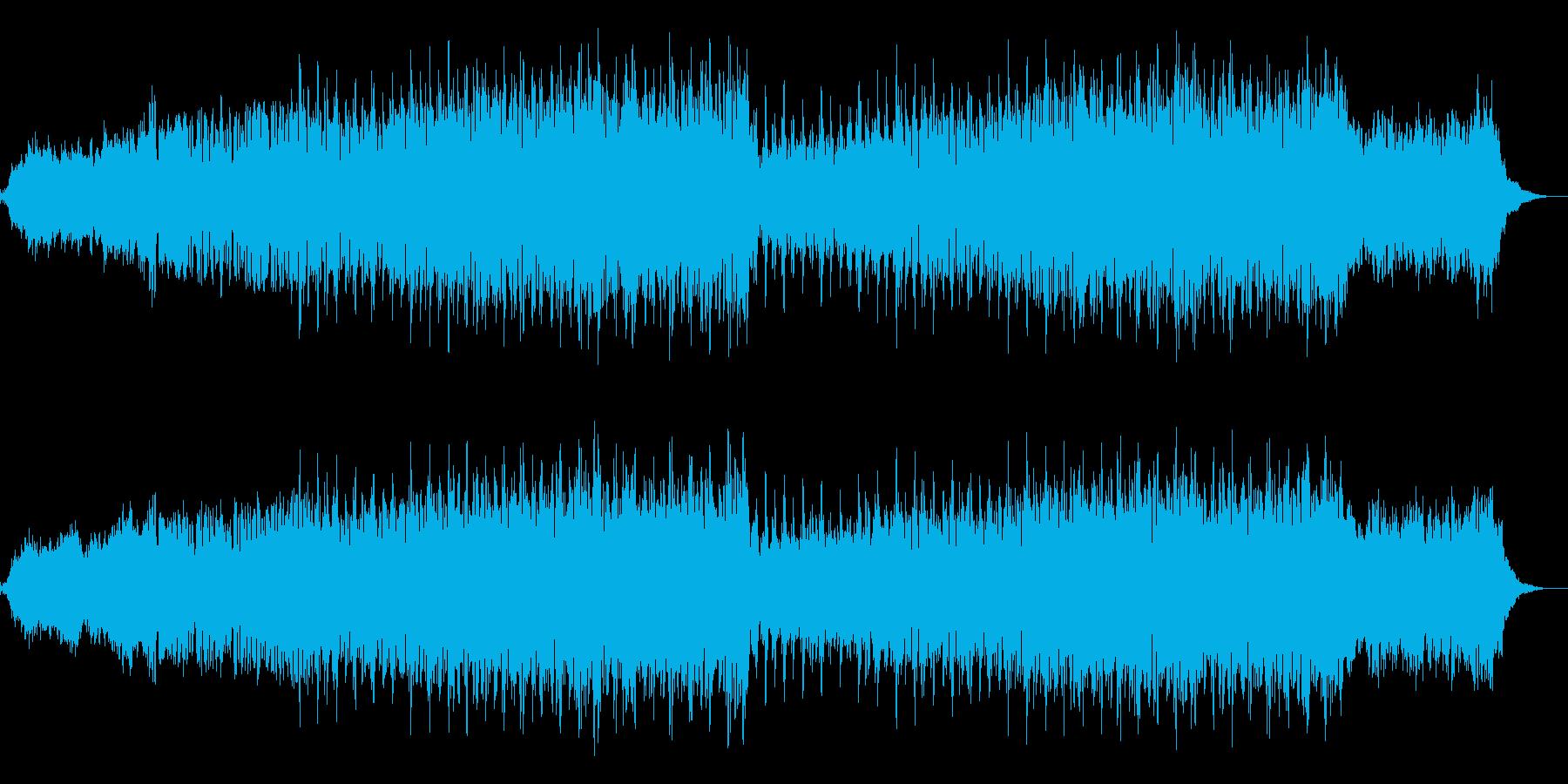ニュース映像ナレーションバック向け-13の再生済みの波形