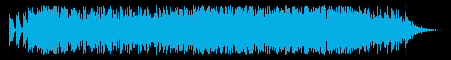 打ち込みを用いたEDM風のジングル!の再生済みの波形