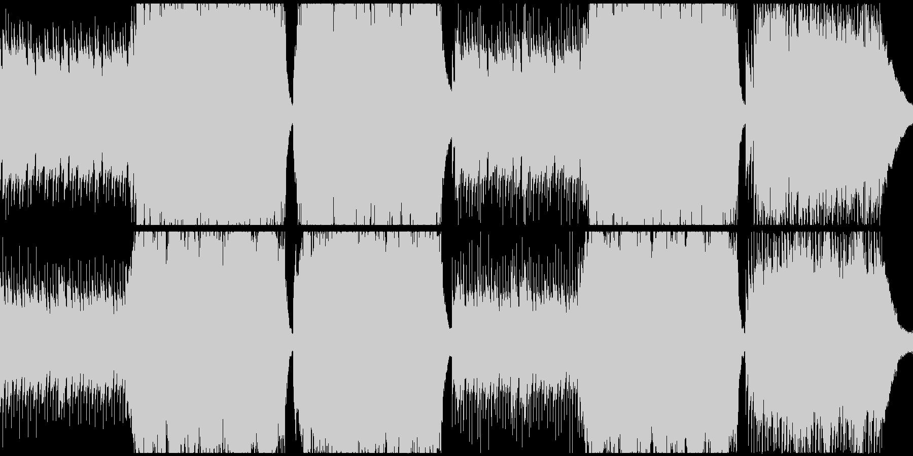 印象的なシーンに。ピアノと弦。の未再生の波形
