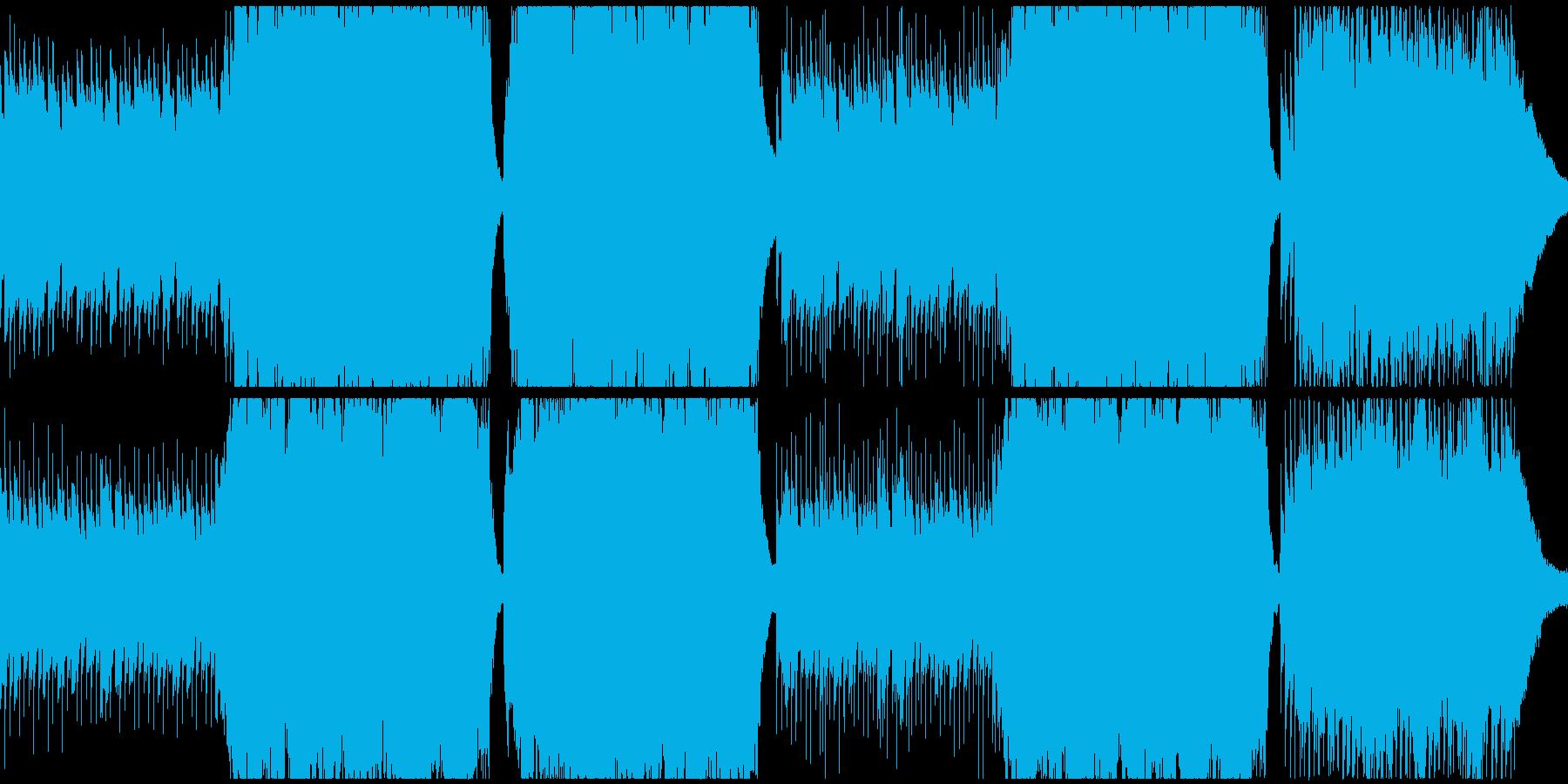 印象的なシーンに。ピアノと弦。の再生済みの波形