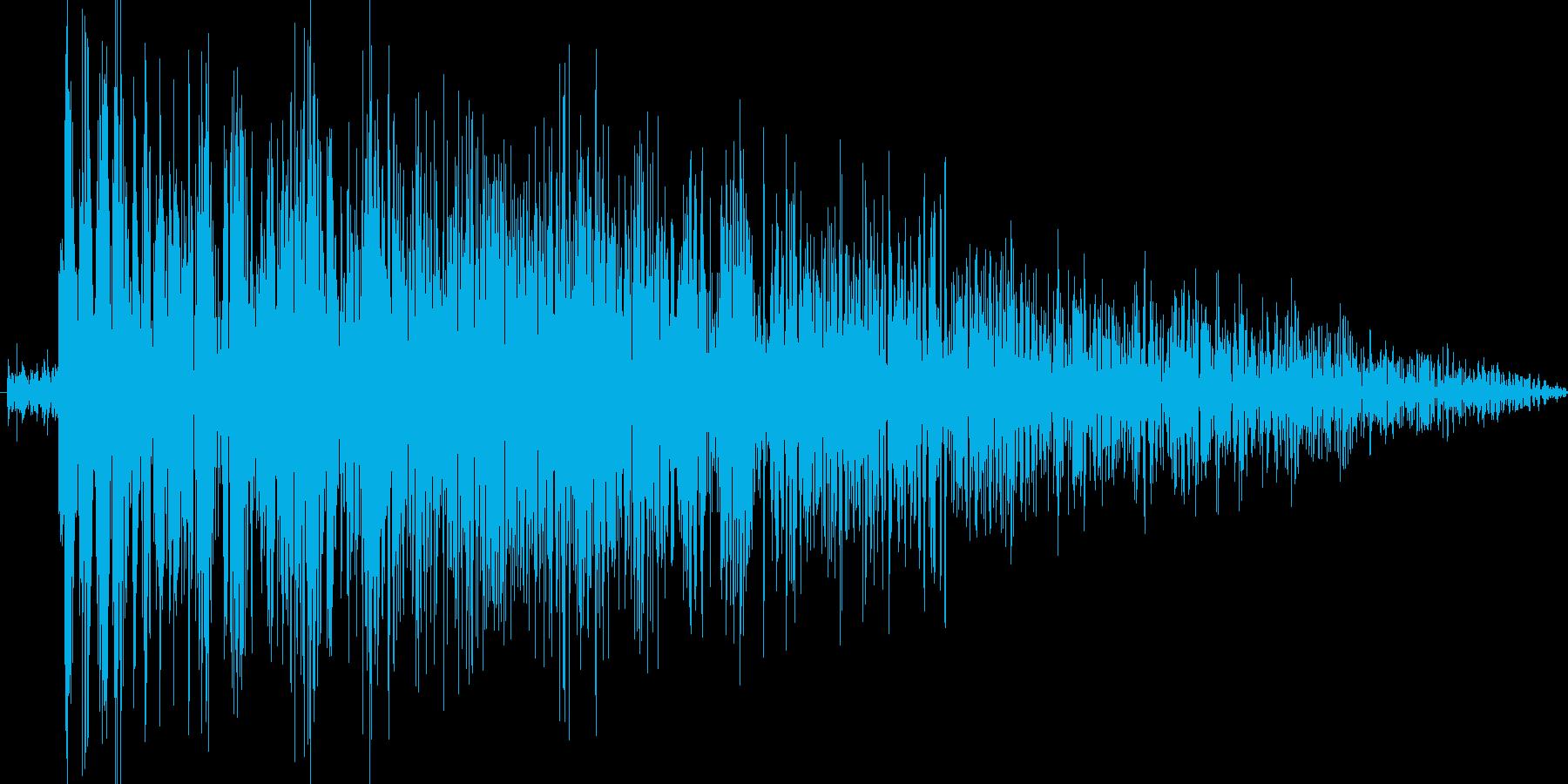 衝撃音,攻撃音,斬撃の再生済みの波形