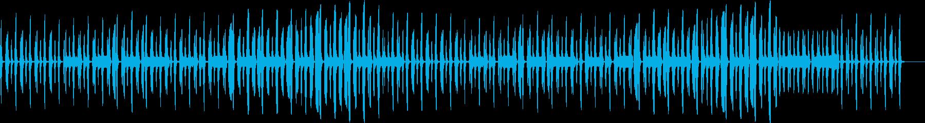 日常パート・リコーダー・説明・紹介の再生済みの波形