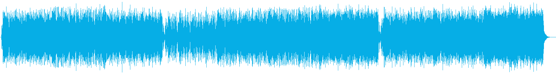 爽やかで明るいイージーリスニング曲の再生済みの波形