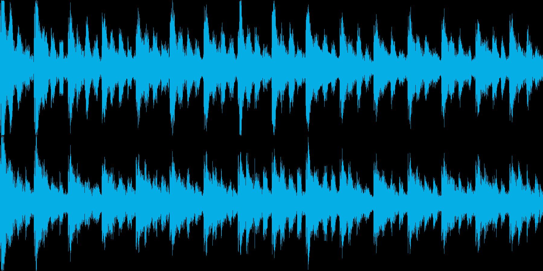 【ループB】かわいい感じのゆるやかテクノの再生済みの波形