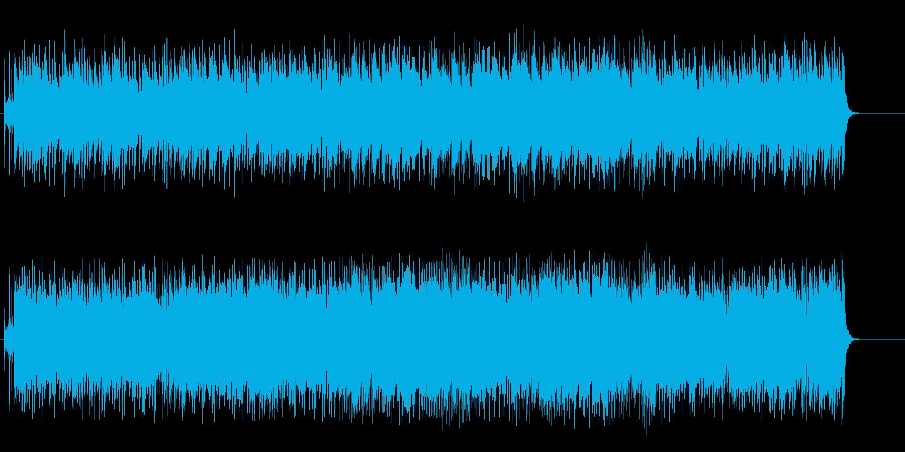 落ち着いたニュー・ミュージック系ポップスの再生済みの波形