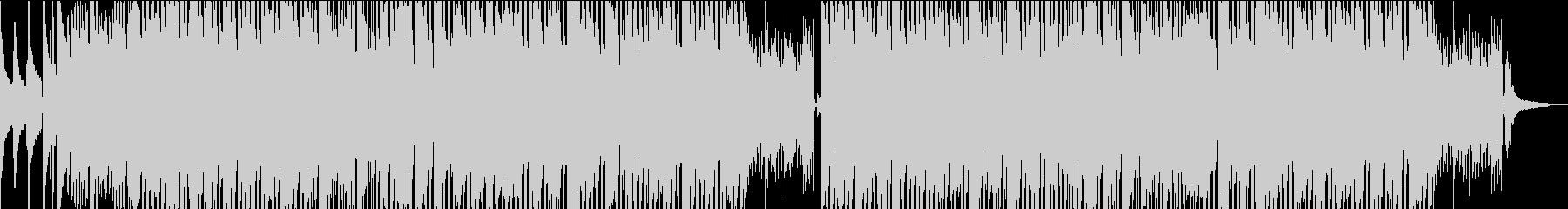 ゆったりとしたボサノバの未再生の波形