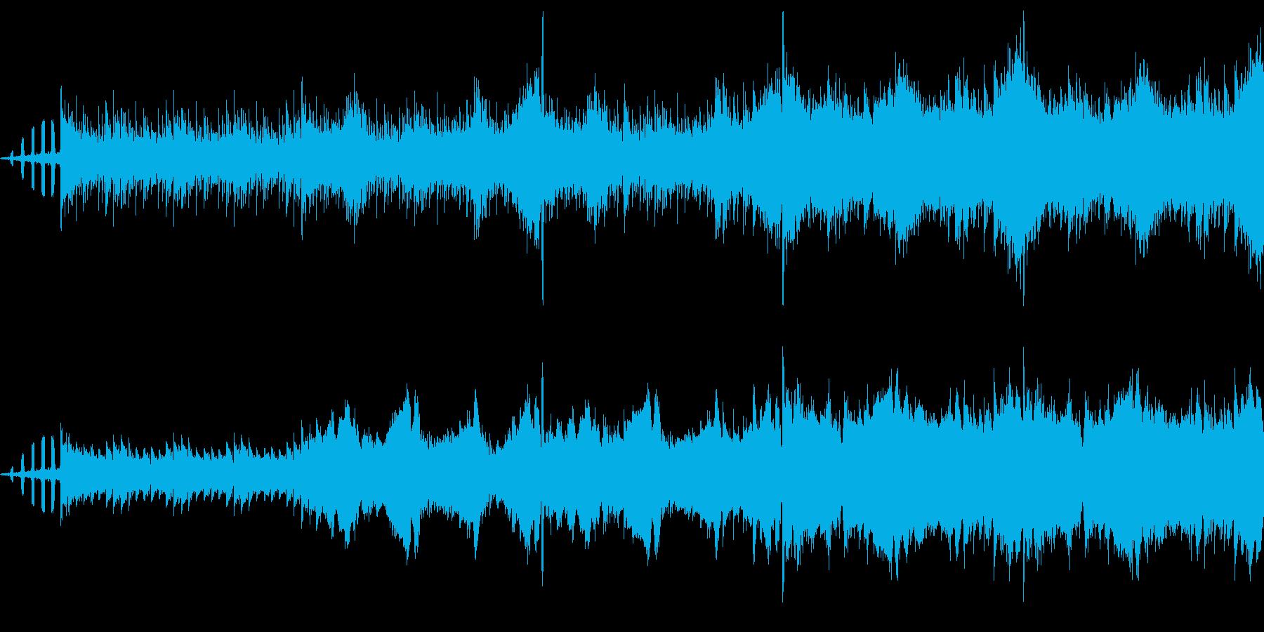 【宇宙/近未来/エレクトロニカ/BGM】の再生済みの波形