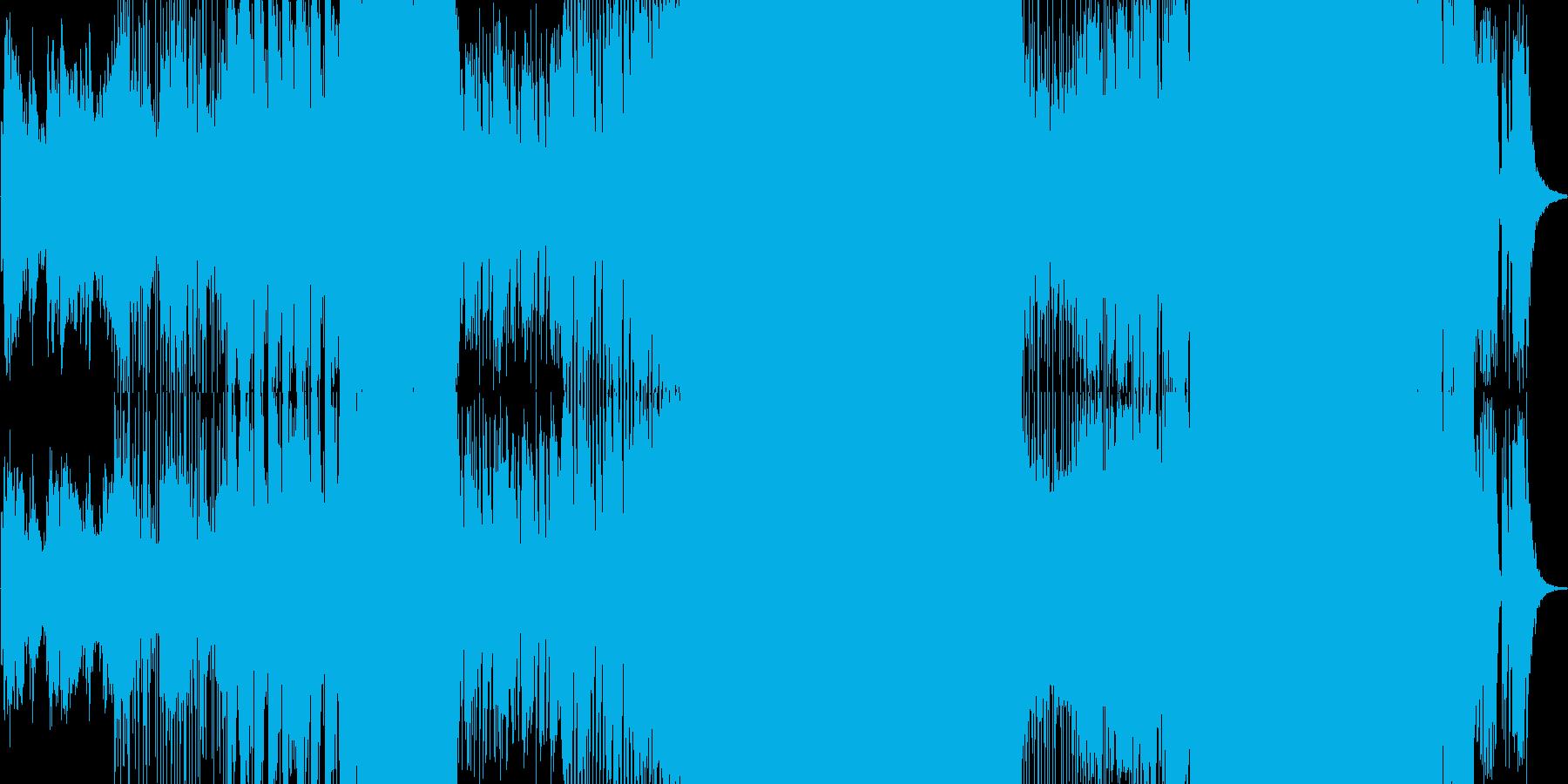 多角的なハード系EDMの再生済みの波形