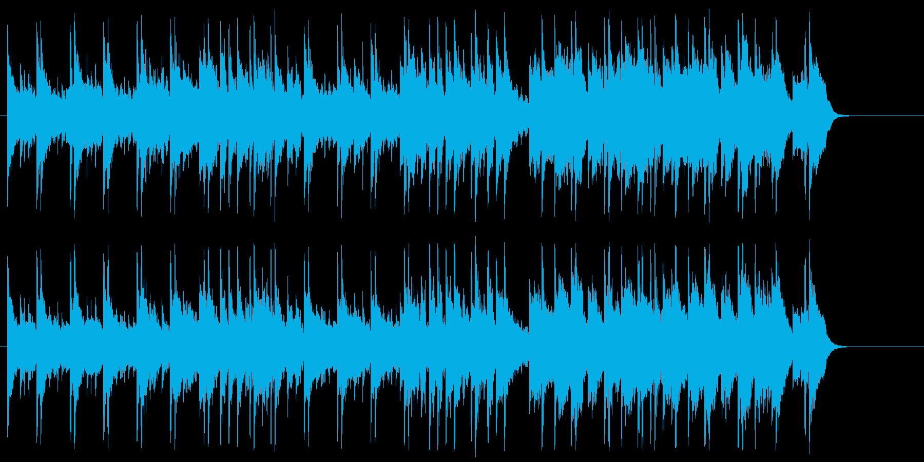 まどろみアコースティック(Aメロ~サビ)の再生済みの波形