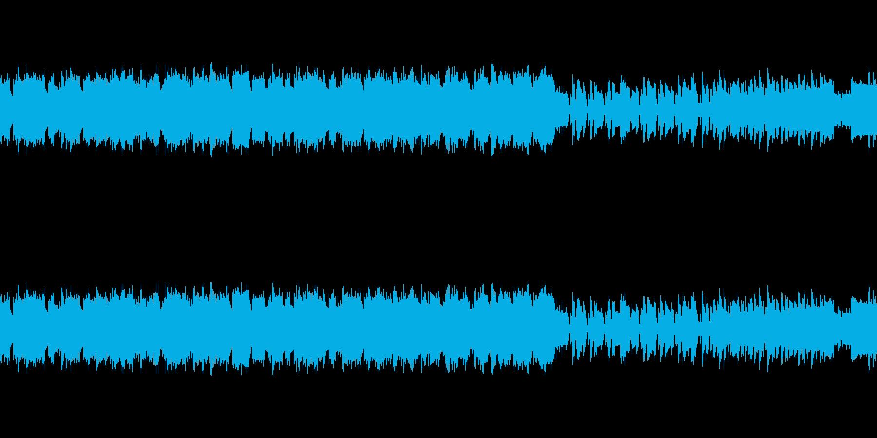 ファミコン風レトロシューティング-爽快感の再生済みの波形