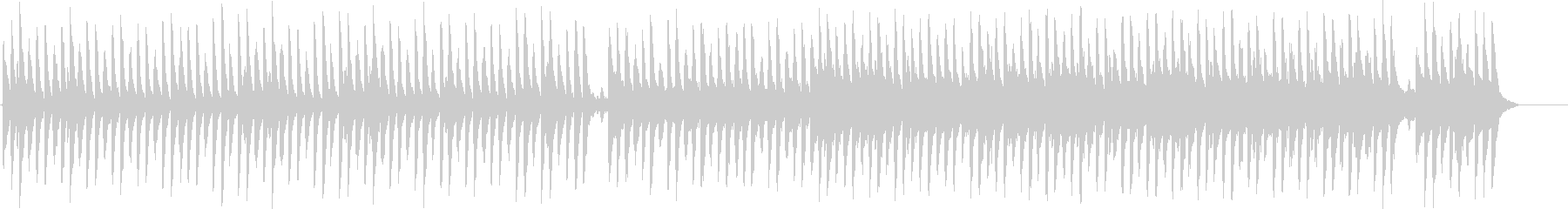 クリスマスソング「サイレントナイト」の未再生の波形