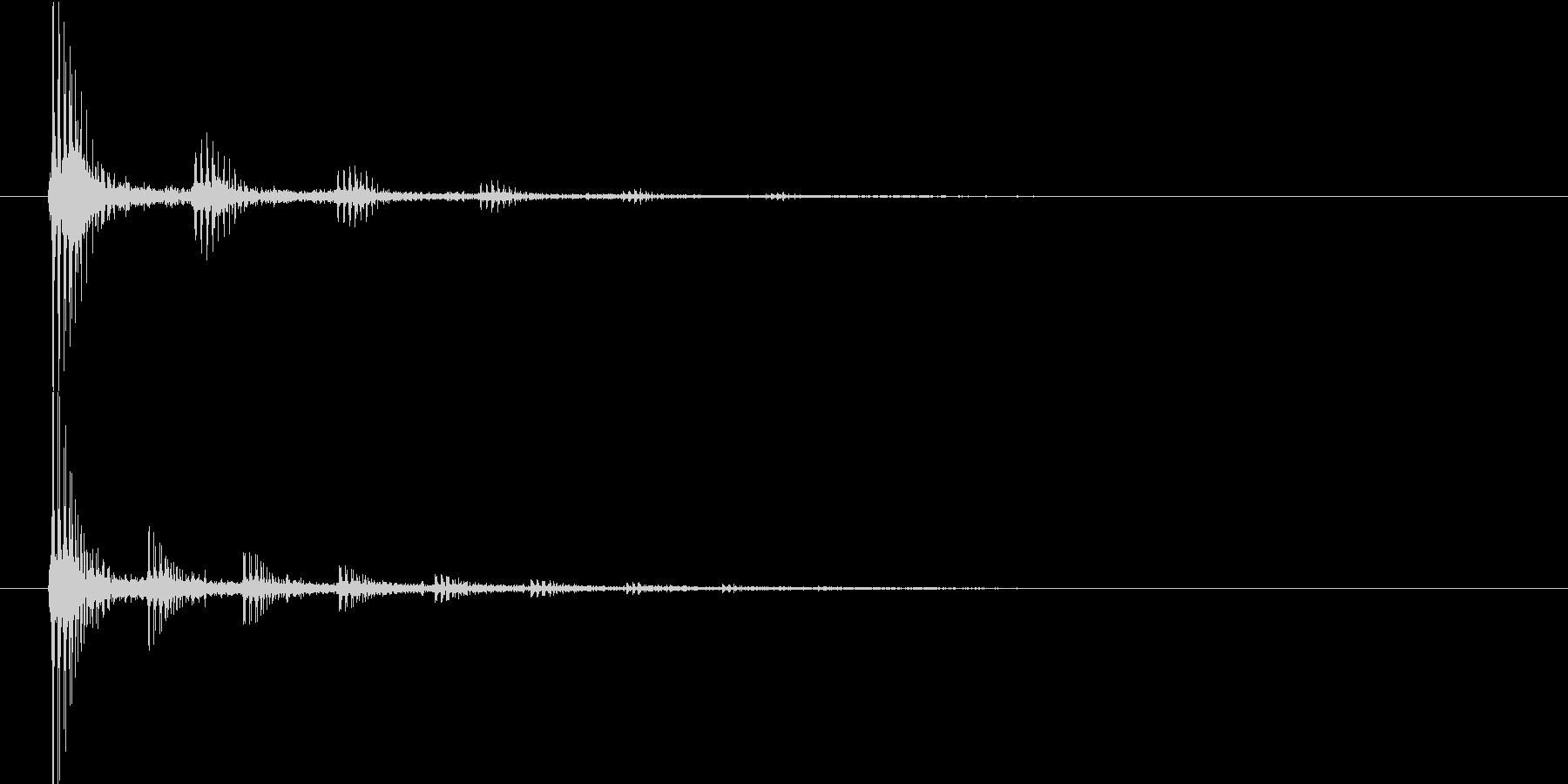ビョンビョン(宇宙船内の音)の未再生の波形