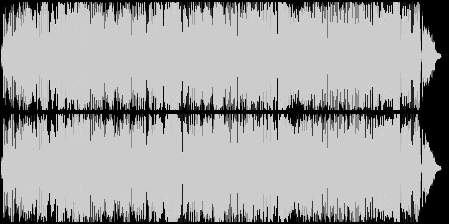 トランペットのおしゃれレトロな素敵BGMの未再生の波形