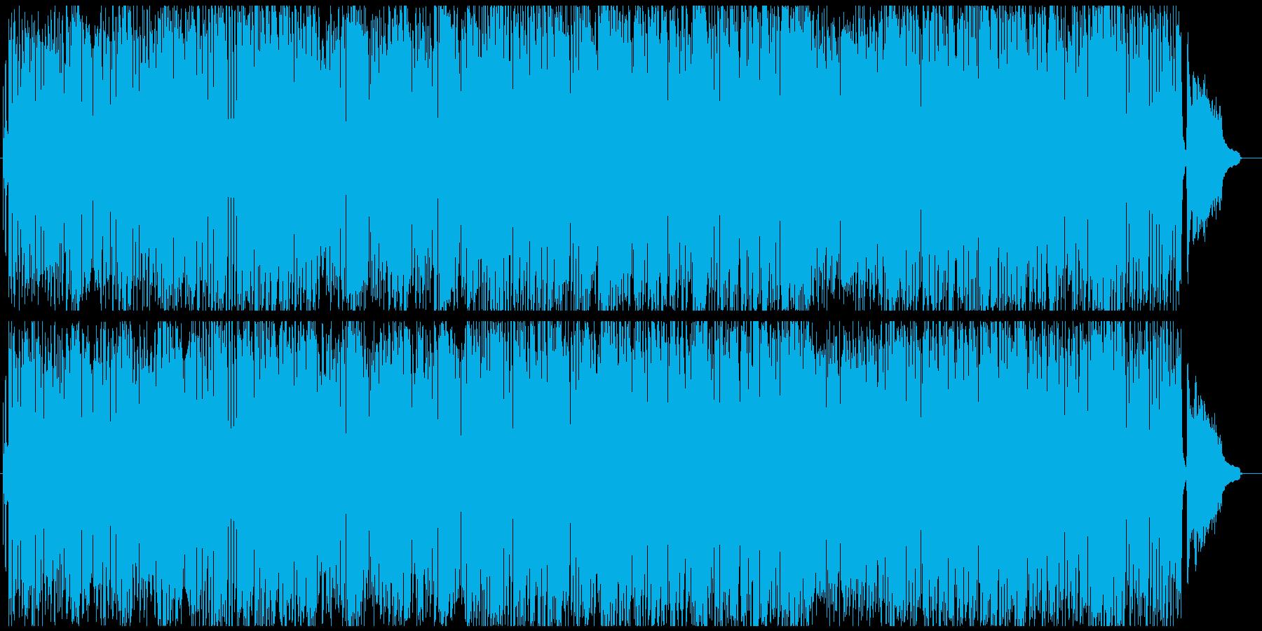 トランペットのおしゃれレトロな素敵BGMの再生済みの波形