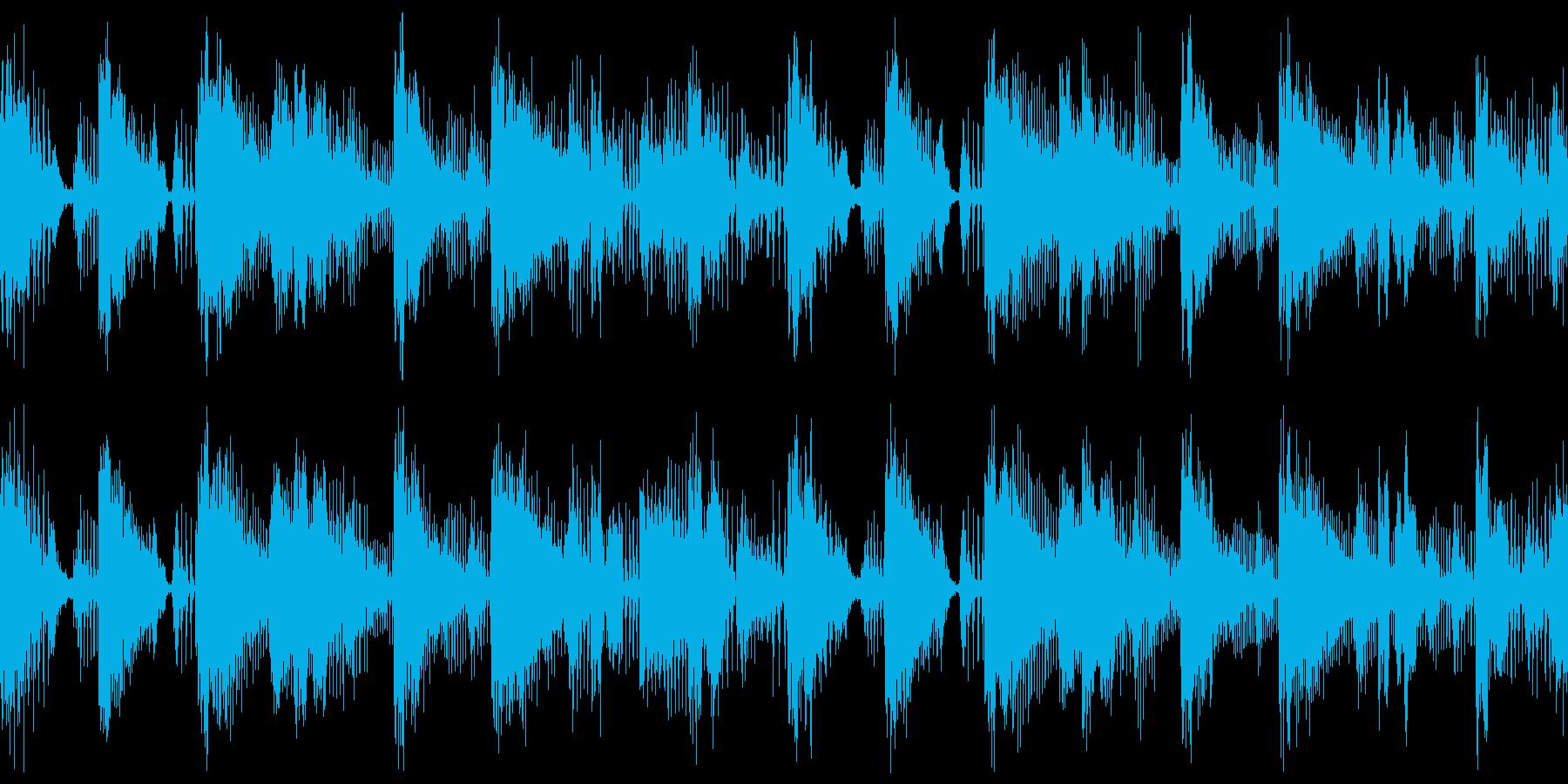短ループ・ディスコ・派手で切れがあるの再生済みの波形