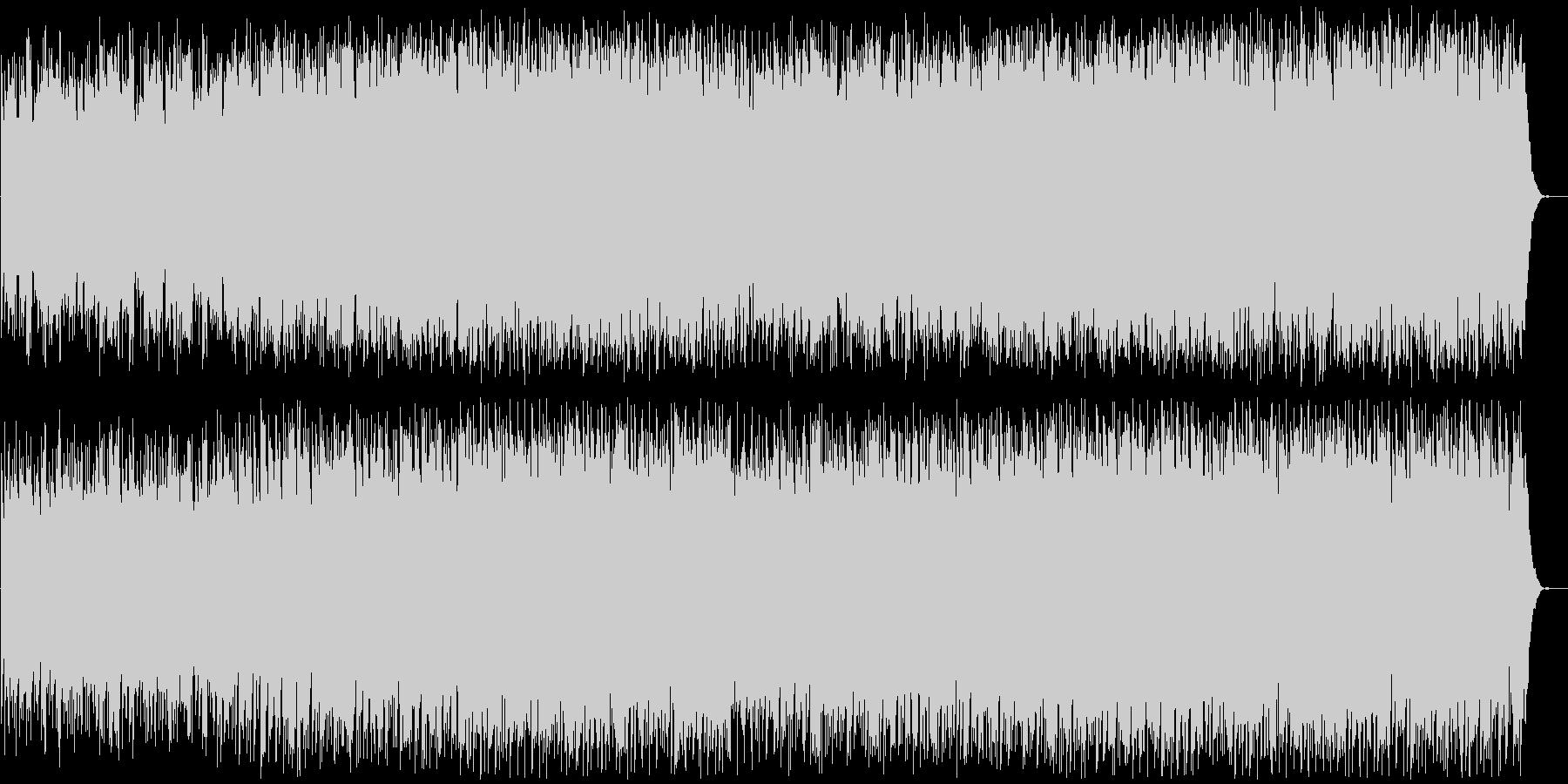 80年代のインストルメンタルロックの未再生の波形