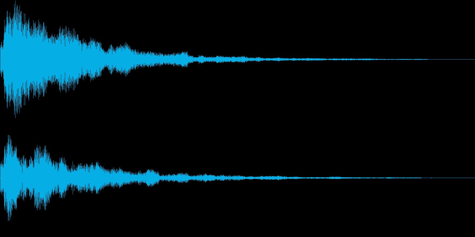 TVFX 疑問 テーマ 結果発表 SEの再生済みの波形