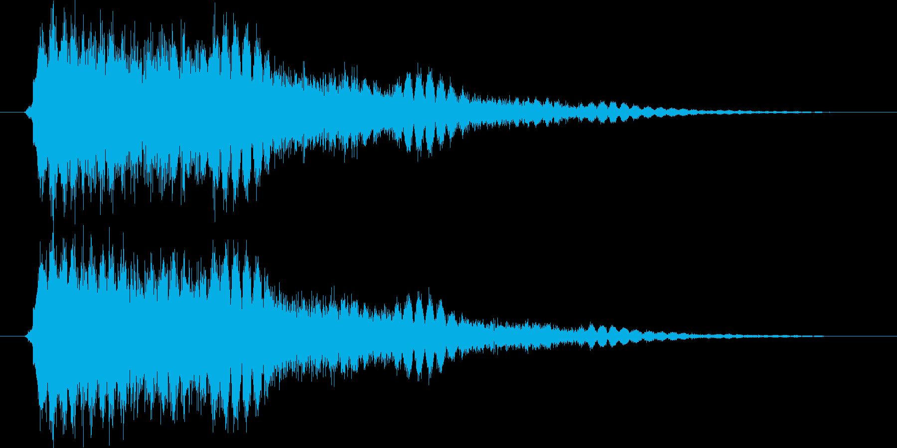 ガシュー(ロボ、機械)の再生済みの波形