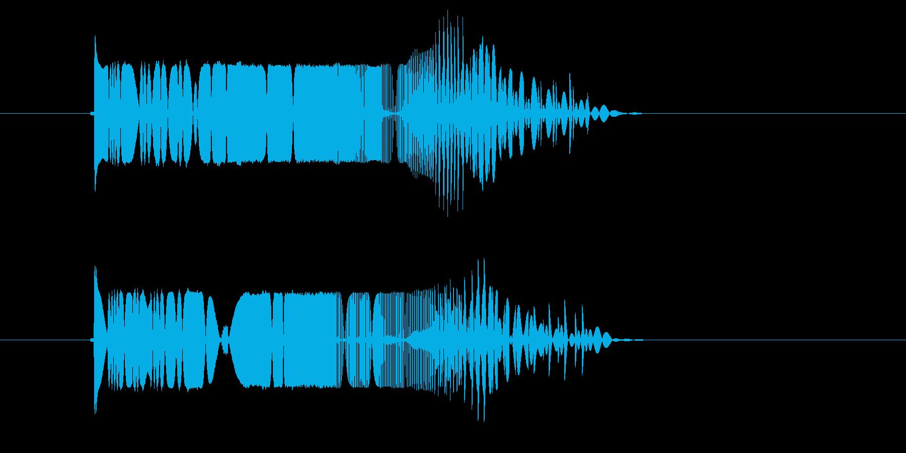 ピヨヨヨン(マシーン、脱力)の再生済みの波形