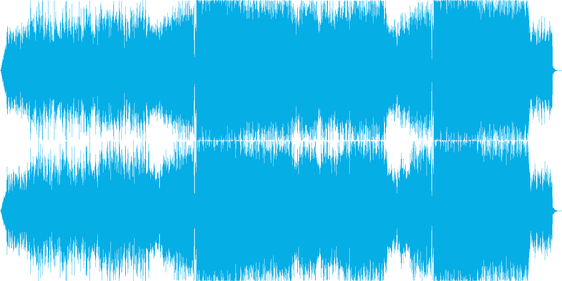 二胡が奏でるアジアンなEDM の再生済みの波形