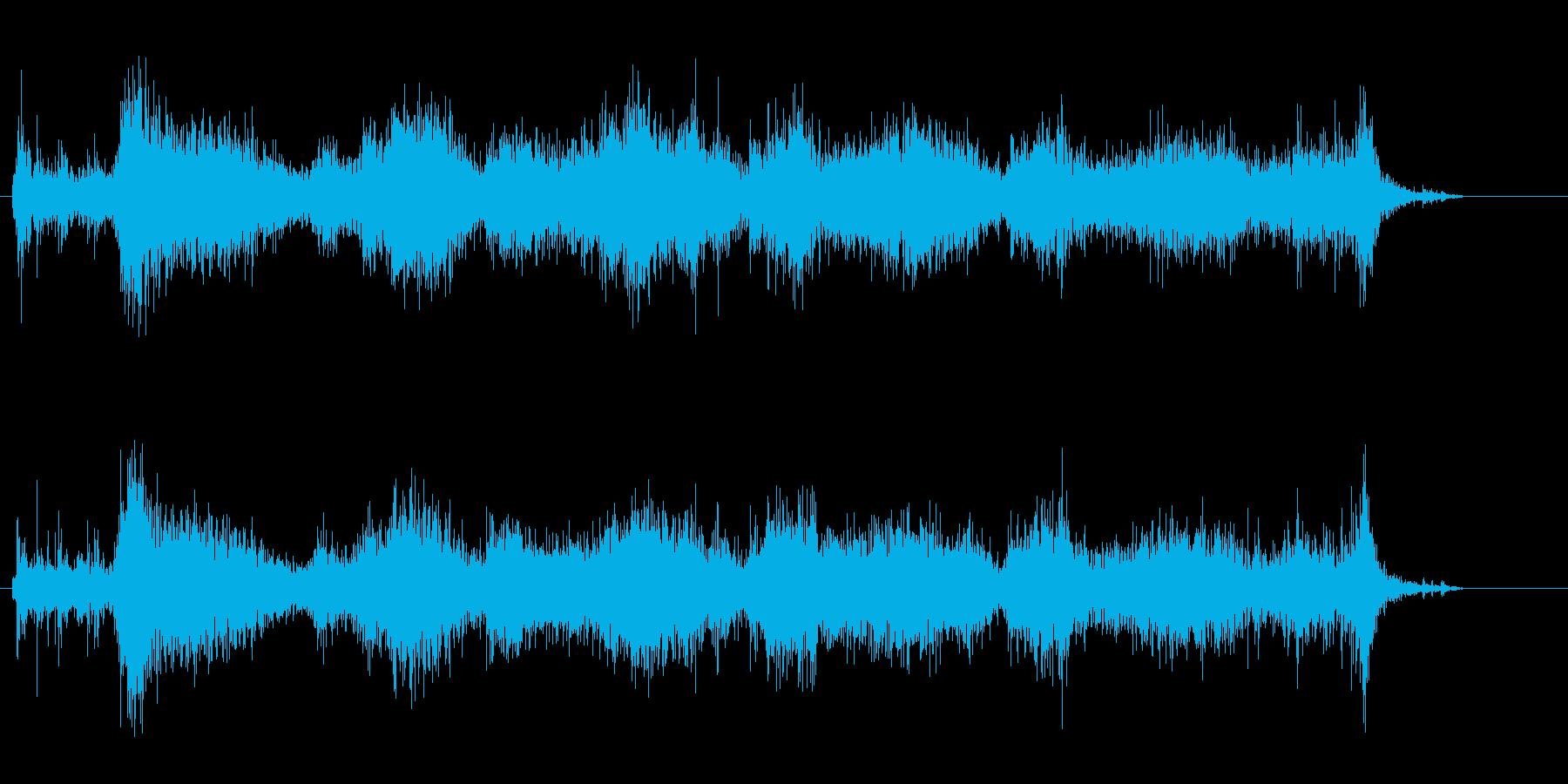 字を書くしゃりしゃりしたリアルな音。の再生済みの波形