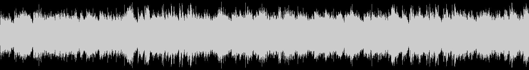 幻想的でやや暗い雰囲気のピアノループの未再生の波形