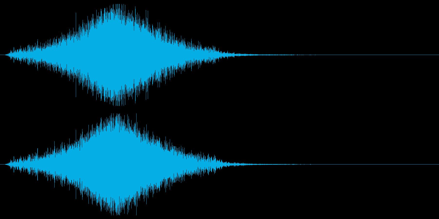 【効果音】フーシュ_上昇して下降の再生済みの波形
