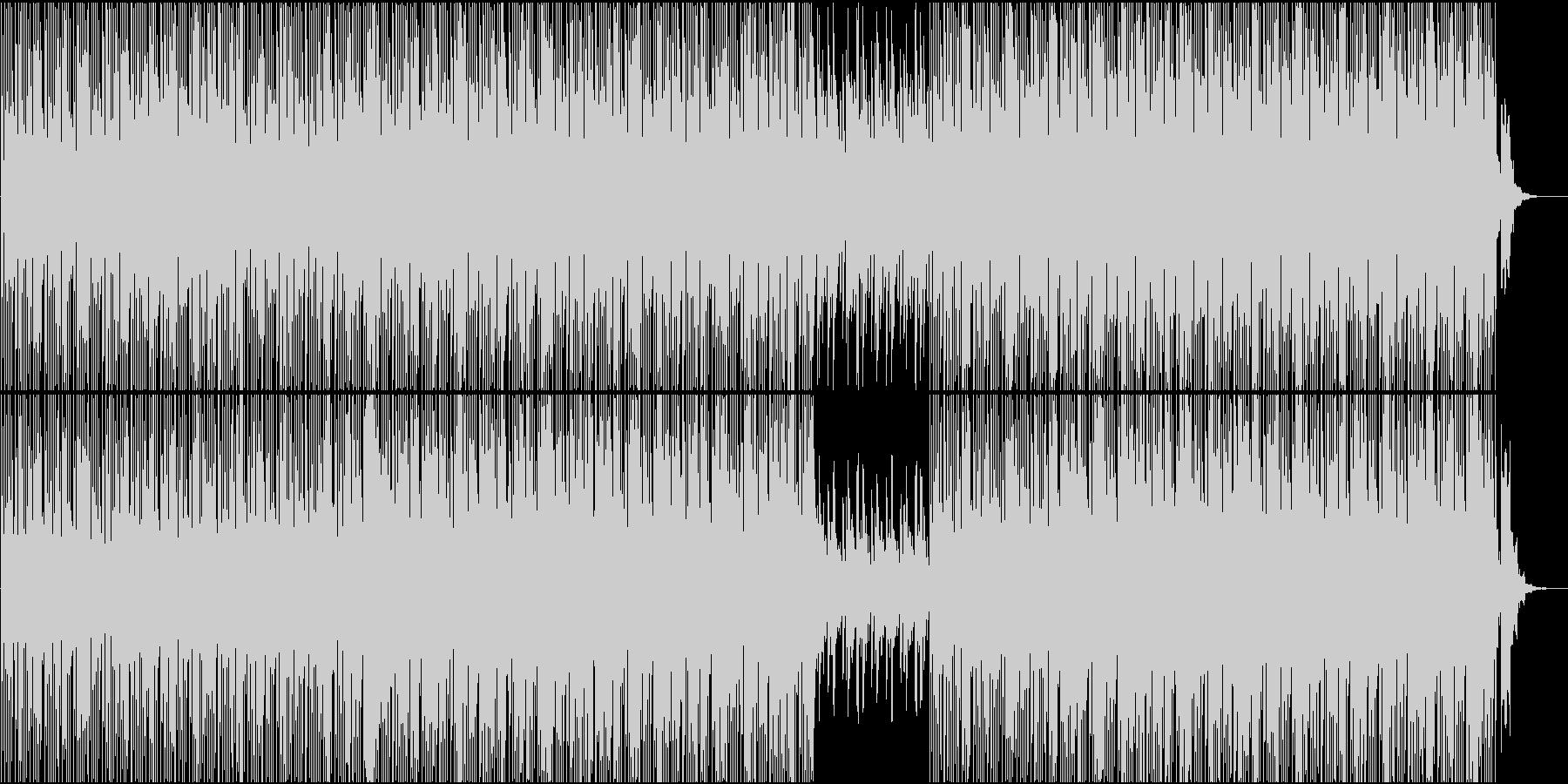 ドキュメンタリー科学番組などBGMの未再生の波形