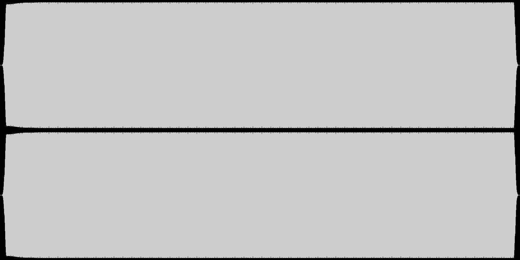 電話 発信音(受話器を上げる) プーの未再生の波形