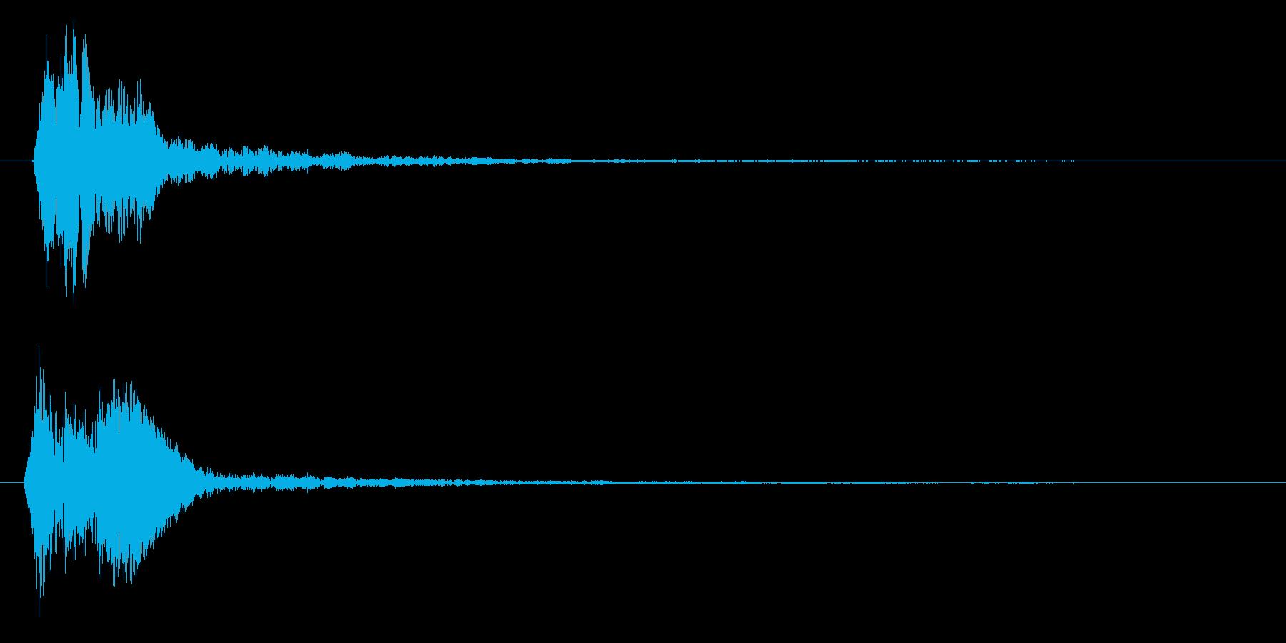 ちゃん(高)の再生済みの波形