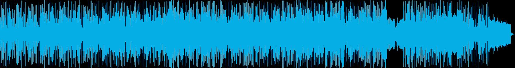 マークアンソニー風の心地いいポップスの再生済みの波形