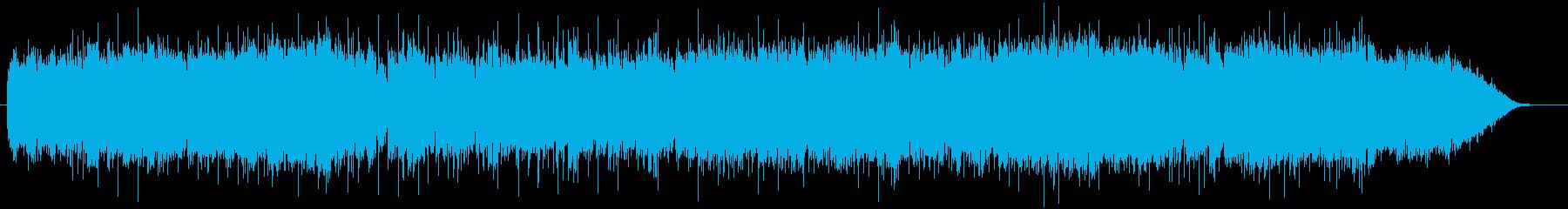 和のエッセンスを取り入れたデジロックの再生済みの波形