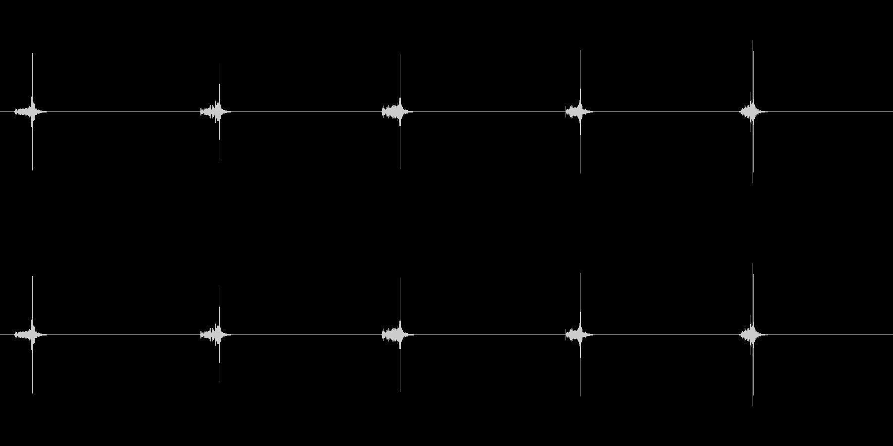【ハサミ02-3(紙を切る)】の未再生の波形