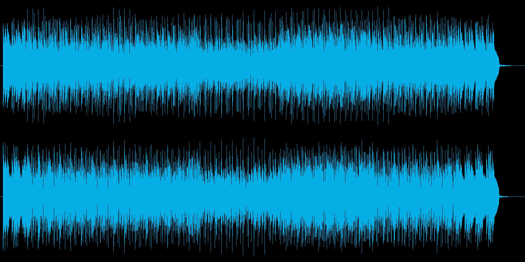 疾走感ある神秘的なテクノサウンドの再生済みの波形