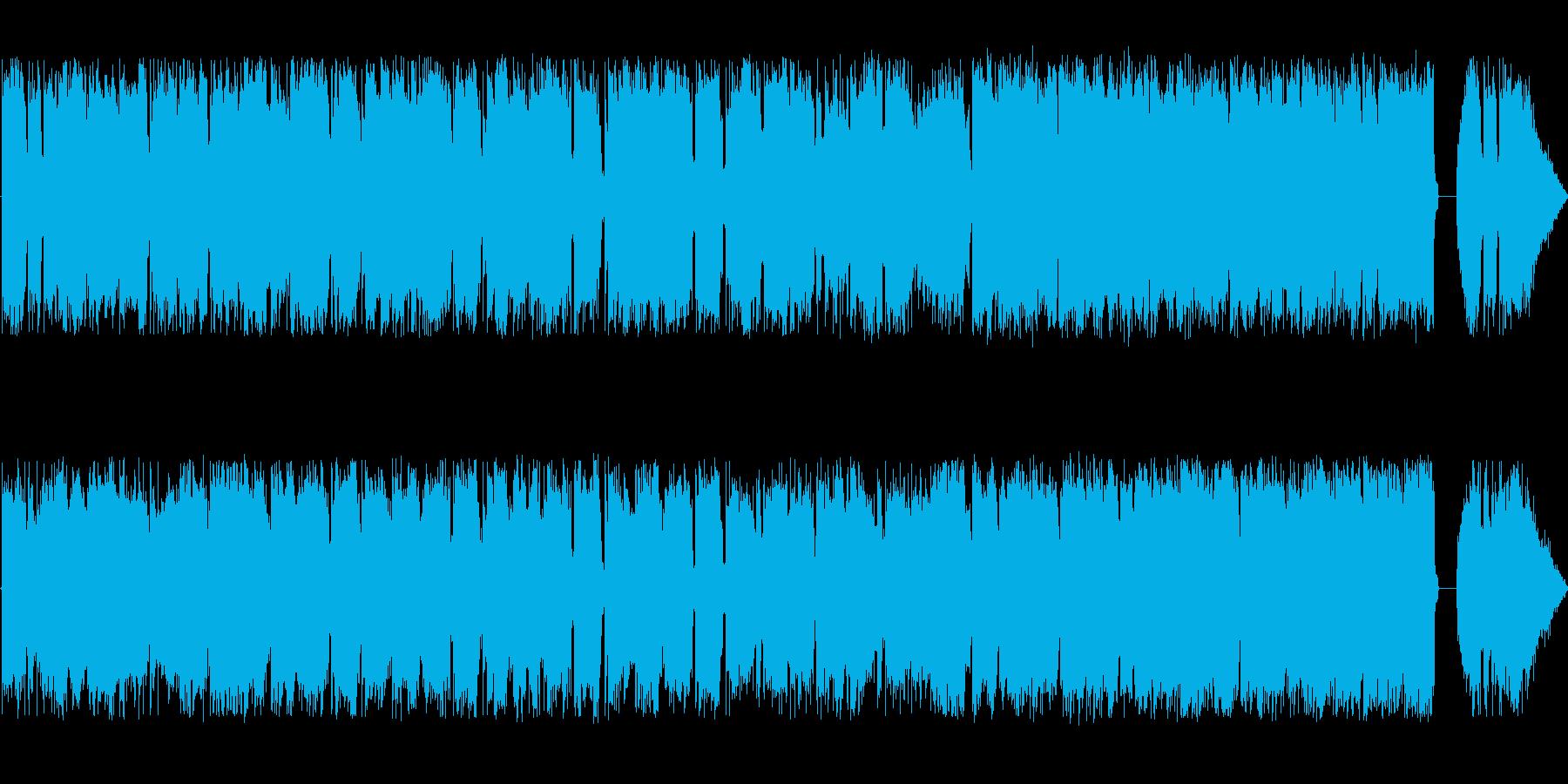 POPチューンの再生済みの波形