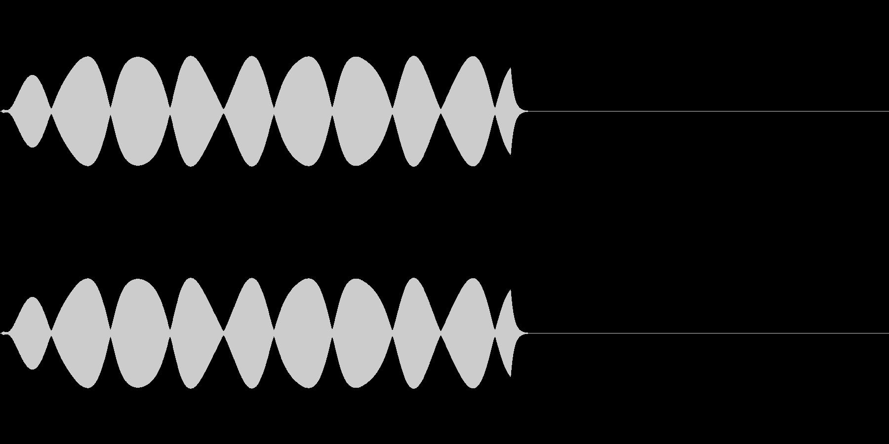 FX・SE/規制音/伏せ音/XXX/Aの未再生の波形