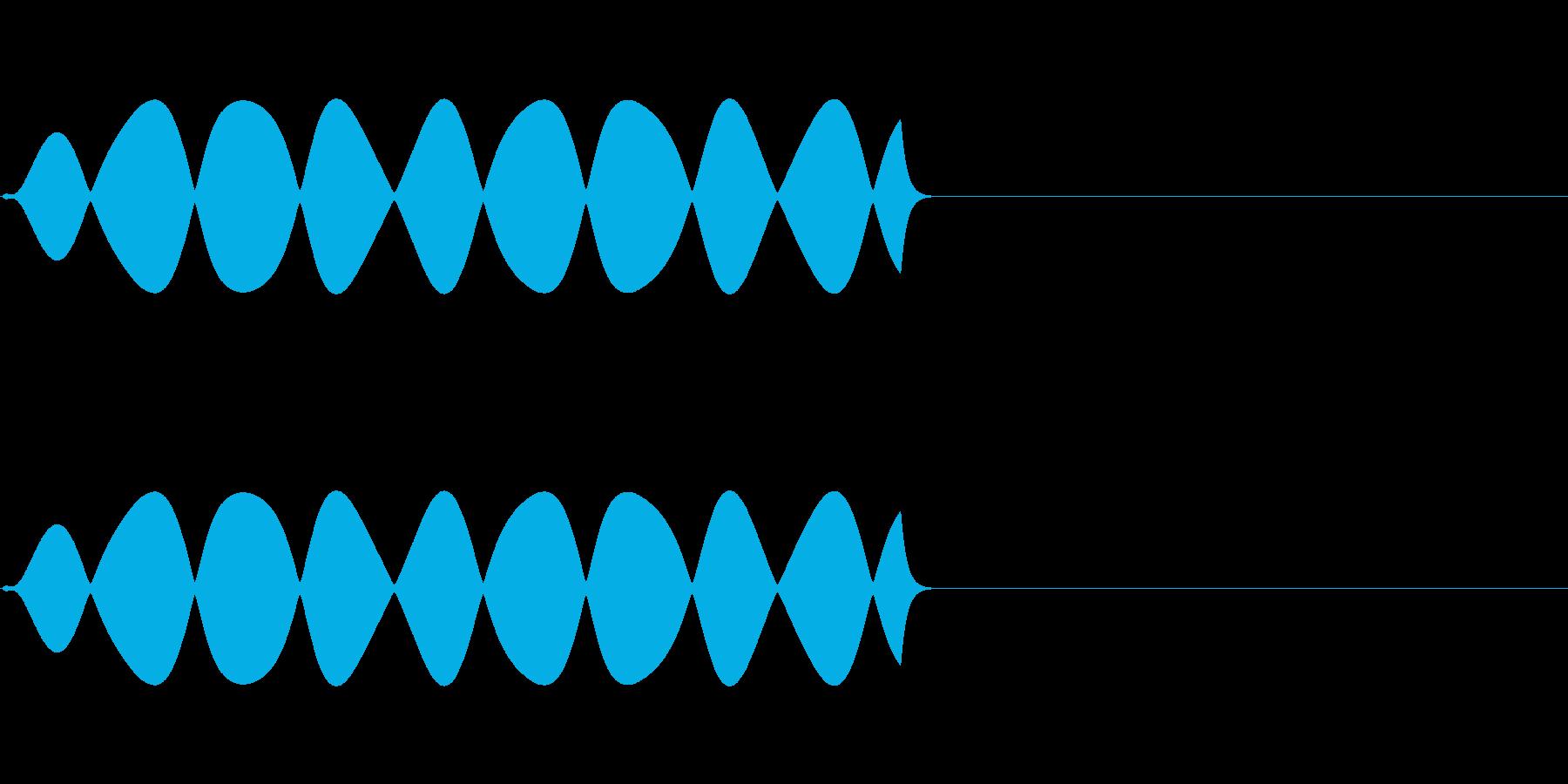 FX・SE/規制音/伏せ音/XXX/Aの再生済みの波形